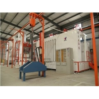 耐摩擦噴涂設備流水線 方便清洗的自動涂裝生產線