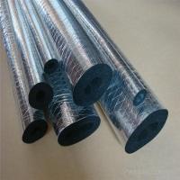铝箔开口自粘式橡塑保温管太阳能管道保温防冻下水管保温隔热防冻