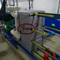 板式换热器保温套 换热器保温套 可拆卸保温套