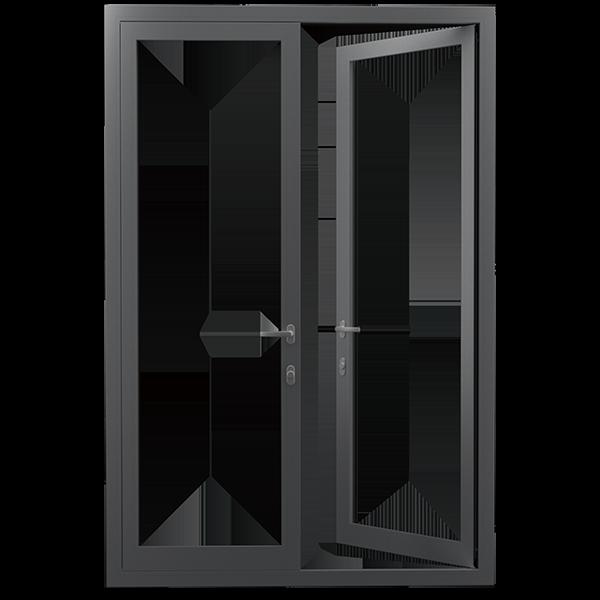 欣畅门窗:XCOD75外开门