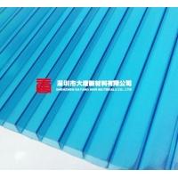 湖藍陽光板,大唐雨棚耐力板,PC板訂做