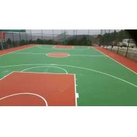 运动篮球场地PVC  硅PU  悬浮地板