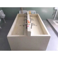 幼儿园石英石洗手台