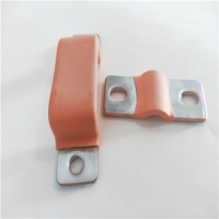 铜箔软连接规格 电力设备PVC绝缘铜箔软连接加工定制