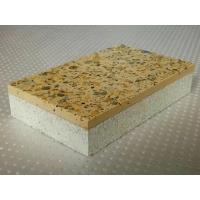 仿花岗石白泡保温一体板 四川彭州厂家一体板安装