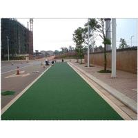 天津彩色沥青行人道施工材料及天津彩色沥青混凝土工程预算