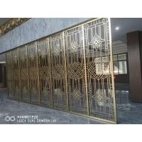 东北售楼部浮雕壁画  酒店不锈钢装饰屏风定制