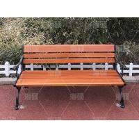 防腐木公园椅  靠背休闲椅