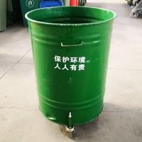 铁质垃圾桶,圆形铁垃圾桶,青岛垃圾桶样品低价处理