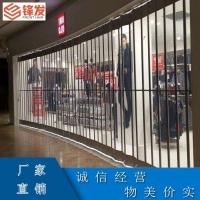 深圳车库水晶卷帘门商铺透明平移门