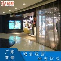 深圳商铺庭院水晶平移门