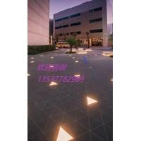 广场发光LED地砖灯 可拼接弧形圆形定制