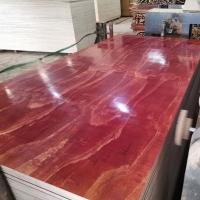 建筑模板廠家 大量批發工地紅模板 層層過膠 剖面密實少空洞
