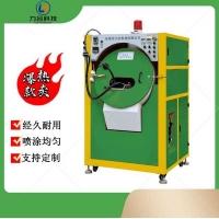 热卖中塑胶件自动炒货喷油机  自动滚喷漆机  炒货机