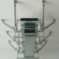 雙側向抗震支吊架、通風管道抗震支吊架