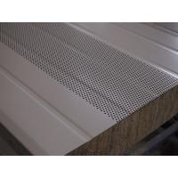 直銷 A級防火吸音巖棉夾芯板橫裝板工業廠房凈化室墻板可定