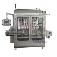 全自動伺服活塞液體灌裝機洗滌劑漂白水定量填料機