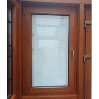 泰州貝科利爾鋁包木門窗鋼化中空玻璃內置磁控百葉