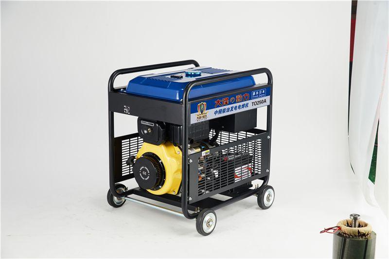 TO250A大泽动力柴油发电电焊机油田用