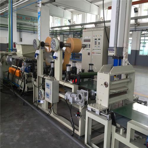 PLA可降解塑料片材擠出機 玉米淀粉降解片材生產線