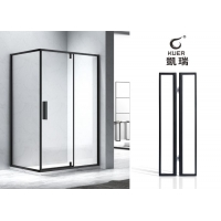 61方形二固一活外开门淋浴房