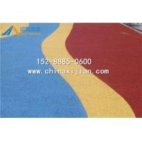 山东彩色透水混凝土路面-山东透水混凝土胶结剂生产