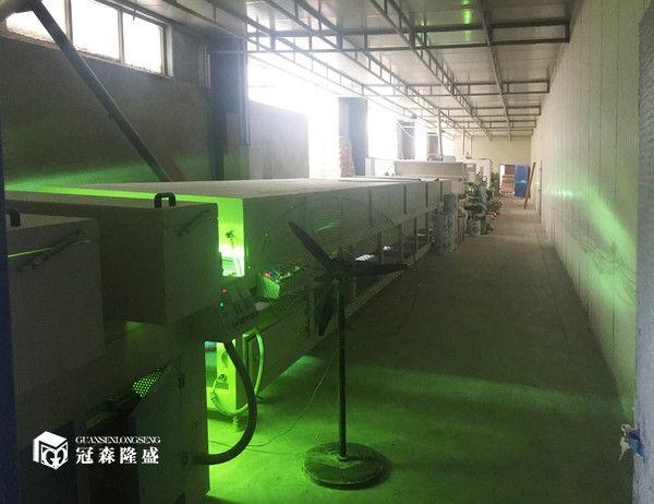 重庆冠森隆盛木门  80米uv生产线设备