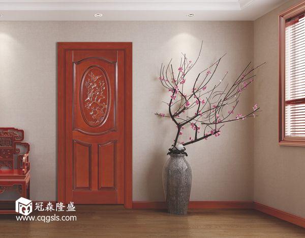 重庆冠森隆盛木门2018年新品中式木门