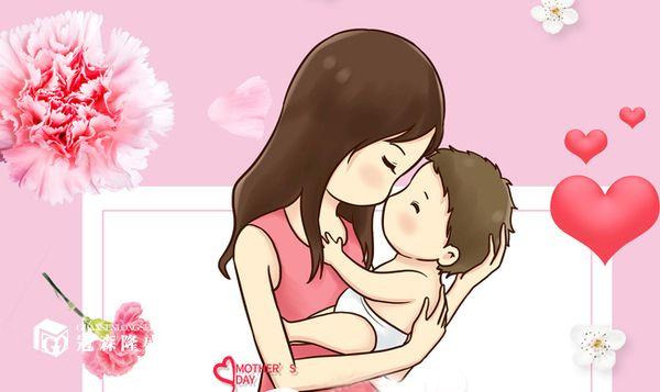 重庆冠森隆盛木门:母亲抱着孩子