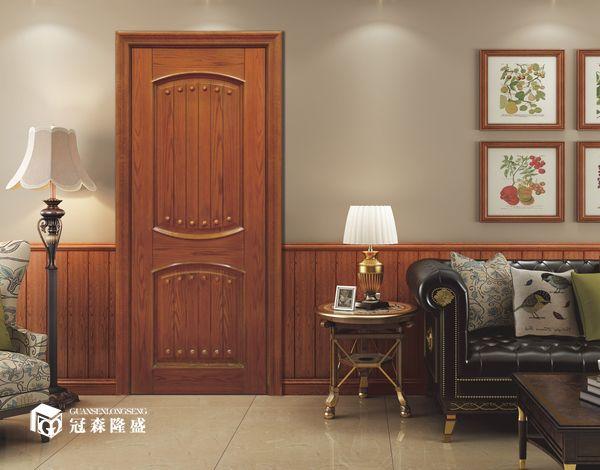 重庆冠森隆盛木门:百搭木门场景图展示