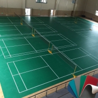 室内羽毛球运动地板