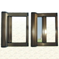 隐形纱窗磁性防蚊网拆卸铝合金门窗推拉式卷帘伸缩纱窗网