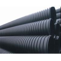 陕西西安波纹管HDPE钢带增强 PE螺旋波纹管 大埋深市政用