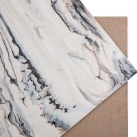生态树脂板 水墨花纹系列 酒店会所装饰树脂板