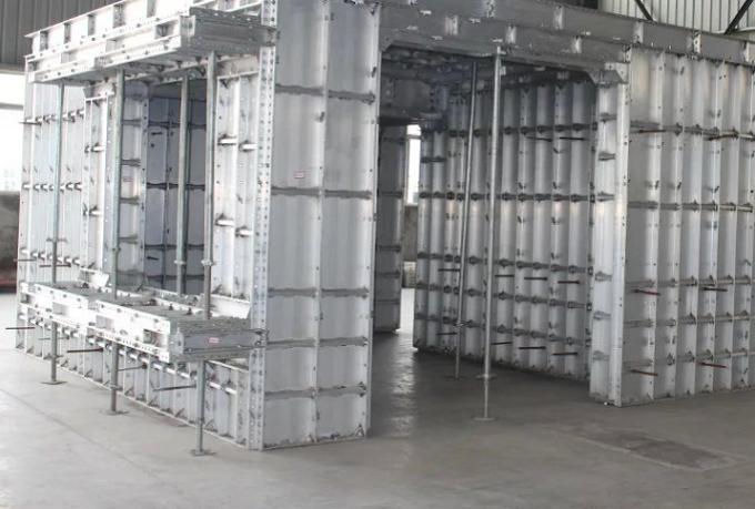 新式鋁模板 ISO認證的鋁模板、專業資質爬架
