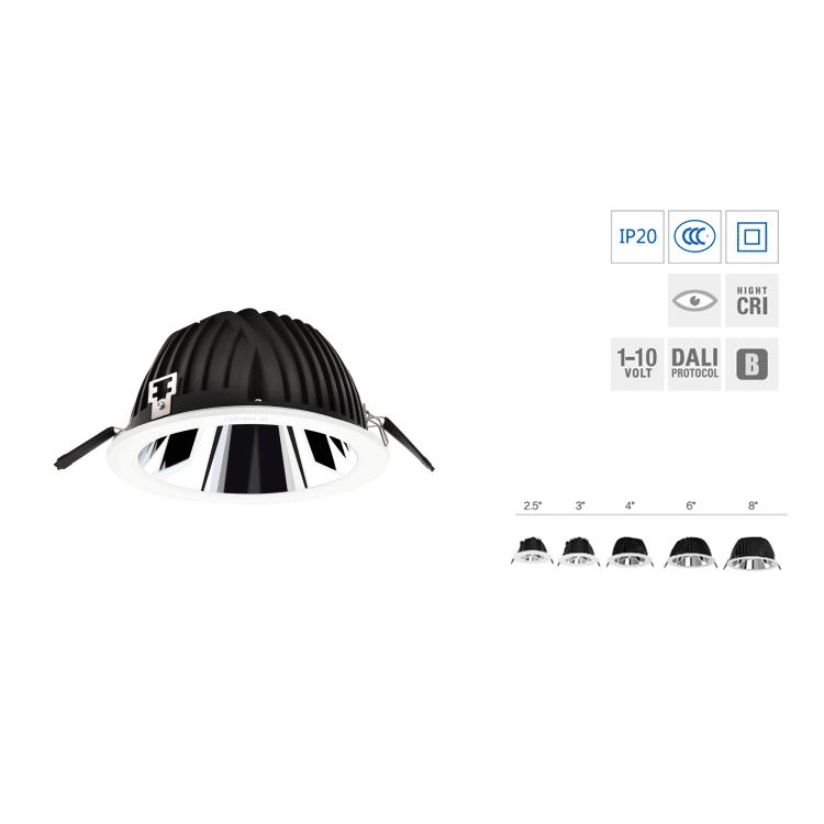 LED嵌入式筒灯-皓柔