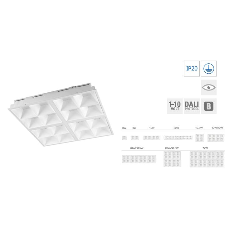 LED灯盘-嵌入式朗格