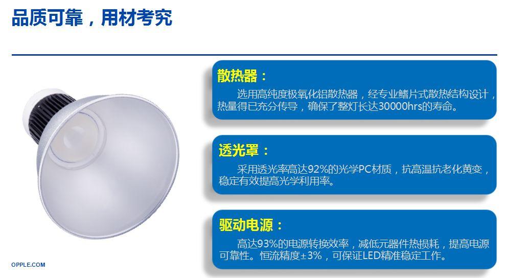重庆欧普照明——LED天棚灯品质