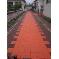 陶瓷透水磚 燒結透水磚   環保透水磚  紅色燒結磚