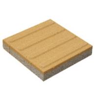 盲道砖100*100/200*200/300*300横条黄