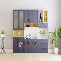 直销全铝环保衣柜防潮全铝家居全铝家具铝合金型材批发促销