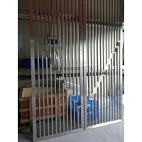 大厅简单款式固定隔断不锈钢隔断花格不锈钢屏风不锈钢玄关