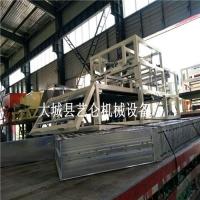 模箱水泥發泡保溫板設備A級水泥發泡板生產線工藝程序