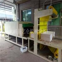 水泥基勻質板包裝機自動覆膜熱收縮膜打包機說明