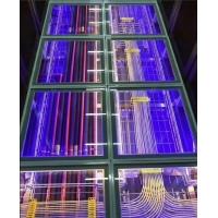 玻璃架空地板新鲜出炉,可视化窗口效果美美哒