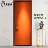 鋁合金房間門現代簡約室內生態門極簡輕奢北歐整套門臥室門定制