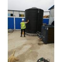 湖北建筑工地5P5吨空气能热泵热水器 学校太阳能热水工程