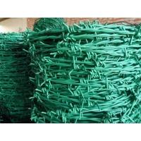 公路刺绳丝铁栅栏pvc包塑镀锌刺绳围栏圈山刺线现货