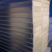 防火 保温 隔热 彩钢岩棉复合板