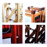 木纹伸缩门,木质电动伸缩门,仿木电动伸缩门,实木电动伸缩门